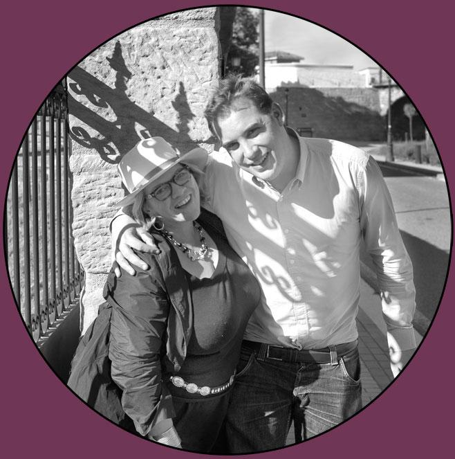 Léa Linster und Max von Kunow in Spanien