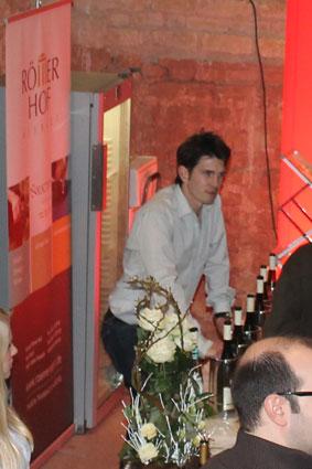Weinforum Trier 2012 Weingut Römerhof Reec Hornibrook