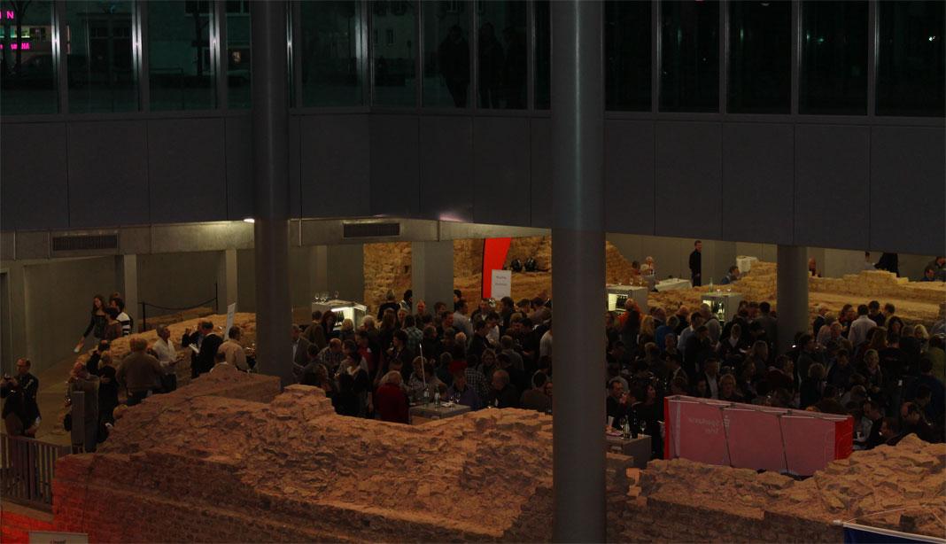Weinforum Trier 2012 in den Kaiserthermen unter dem Viehmarkt