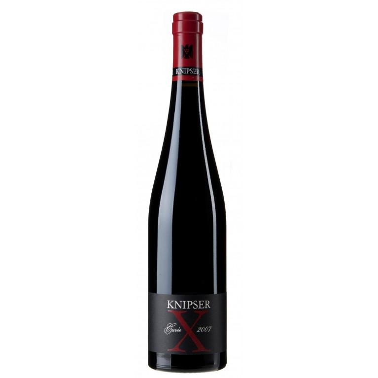 2007 Cuvée X Rotweincuvée Barrique trocken von Weingut Knipser