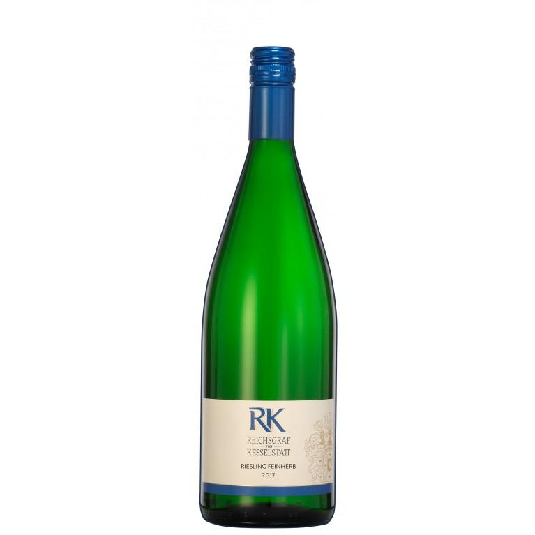 """Kesselstatt Riesling """"RK"""" feinherb 1,0L"""