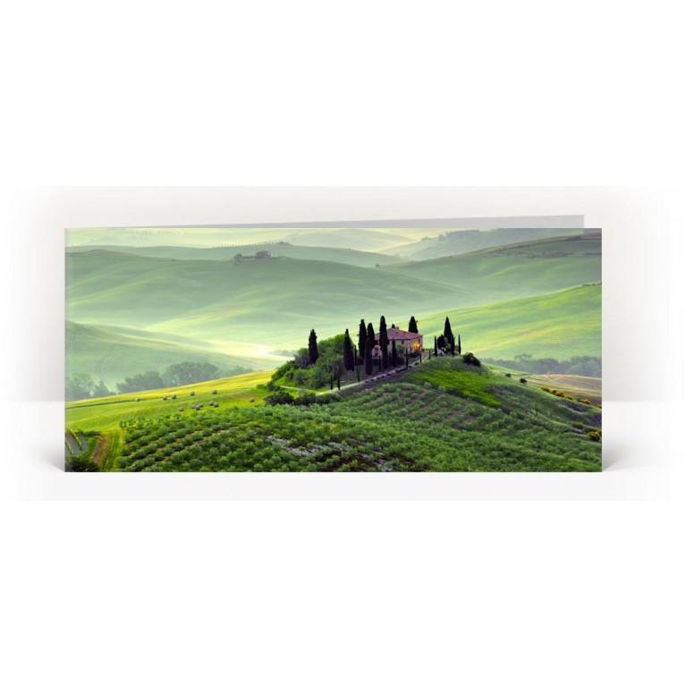 Grußkarte 'Toskana'
