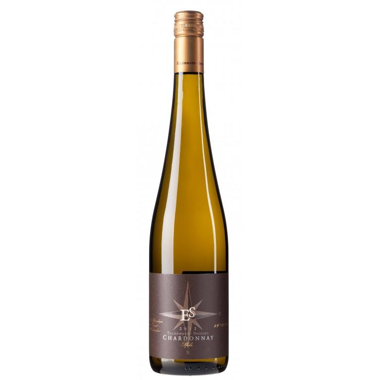 """Ellermann-Spiegel 2012 Chardonnay trocken """"Goldkapsel"""""""
