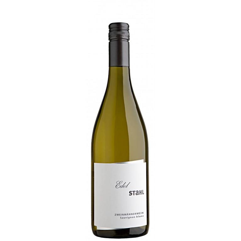 Edelstahl Sauvignon Blanc Zweimännerwein