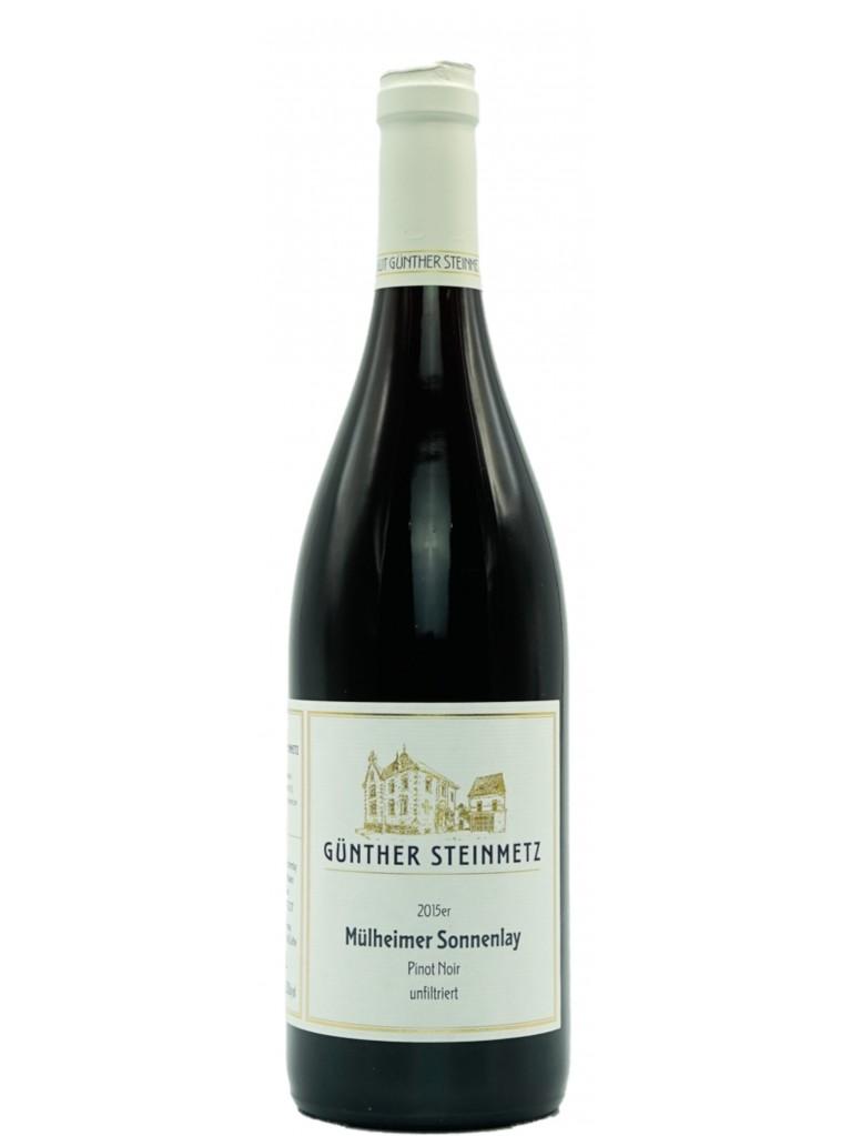 Günther Steinmetz Mühlheimer Sonnenlay Pinot Noir trocken unfiltriert