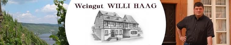 Banner Weingut Willi Haag