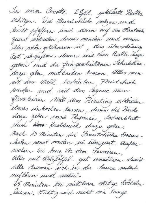 Teil 2 - Coq au Riesling - Rezept von Léa Linster