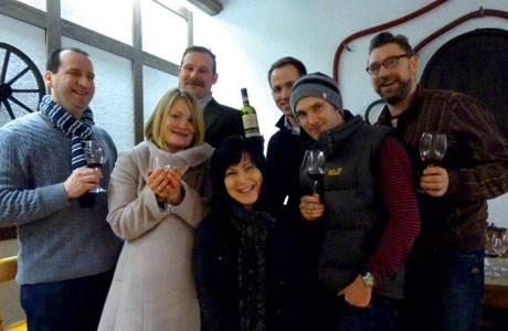 Die Weinliebhaber der ersten Runde von Vinokammer